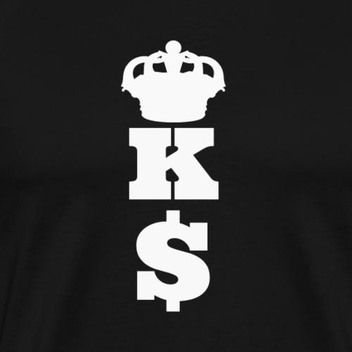 Money King - Geld König - Männer Premium T-Shirt