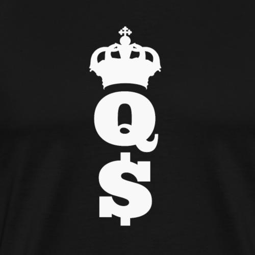 Money Queen Geld Königin - Männer Premium T-Shirt