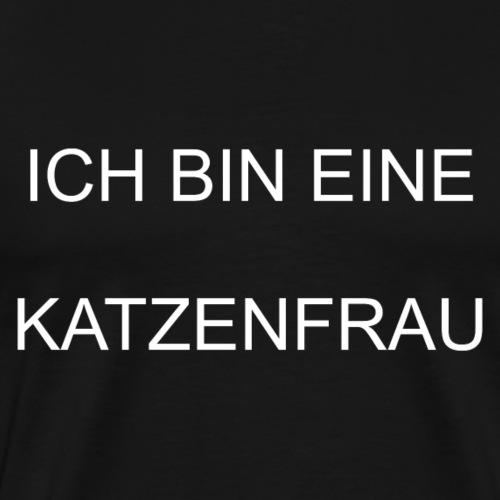 Katze Kätzchen Katzenfrau Schmusekatze - Männer Premium T-Shirt