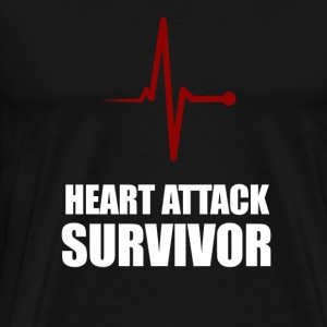 Heart Attack Survivor - Men's Premium T-Shirt