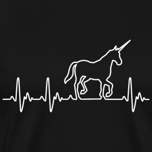 Heart for Unicorns - Men's Premium T-Shirt