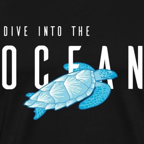 Ocean Dive - Männer Premium T-Shirt