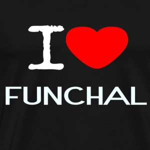 I LOVE FUNCHAL - Men's Premium T-Shirt