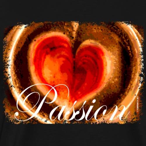 06-39 Cafe Passion series - Miesten premium t-paita