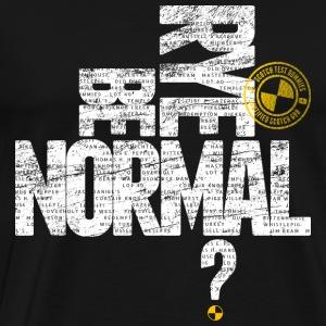 Scotch Test Dummies - Rye Be Normal w/stamp - Men's Premium T-Shirt