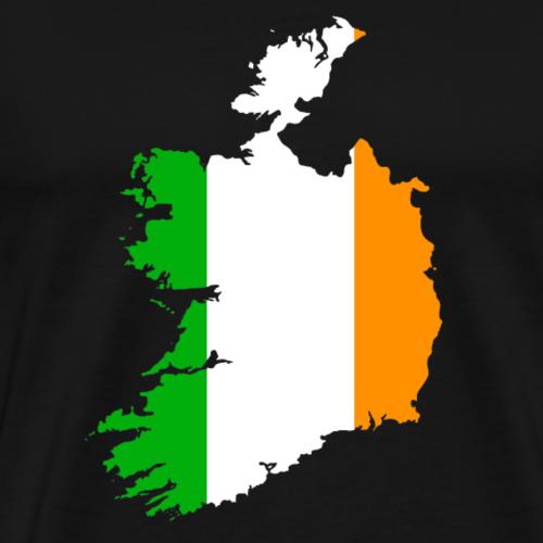 Republic of Ireland Double Exposure - Men's Premium T-Shirt