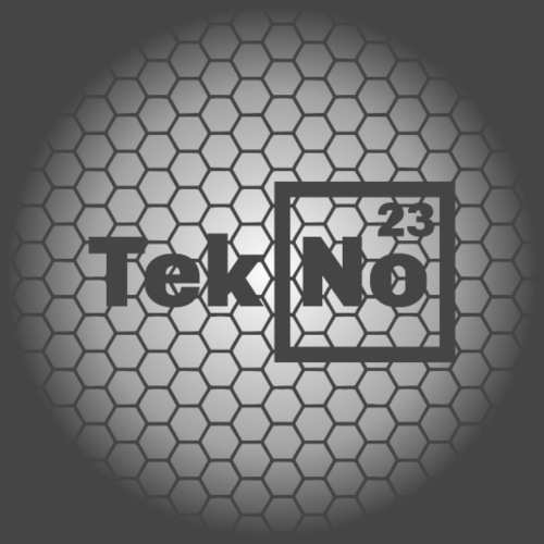 Tekno 23 logo - Camiseta premium hombre