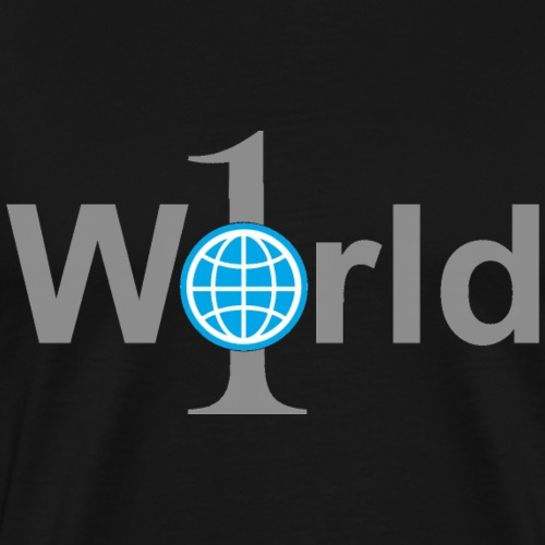 One World - Männer Premium T-Shirt