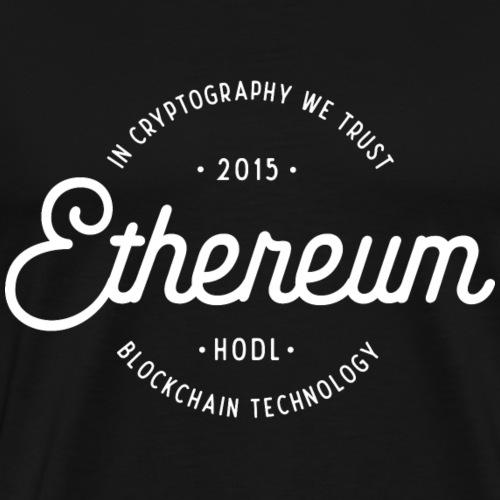 Ethereum - Premium-T-shirt herr