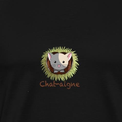 Chat-aigne - T-shirt Premium Homme