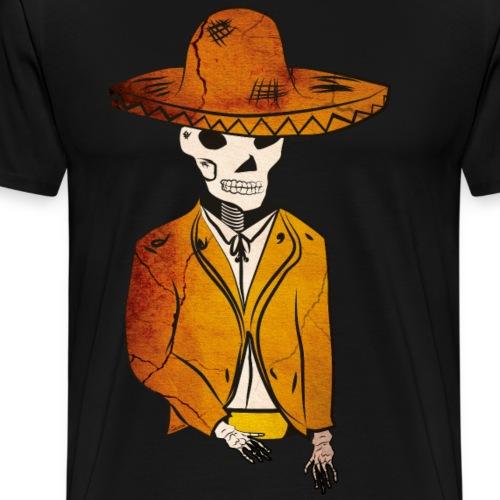 Mariachi muerto - Camiseta premium hombre