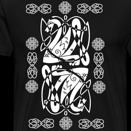 Keltischer Schwan - Männer Premium T-Shirt