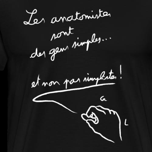 Les anatomistes ... - T-shirt Premium Homme