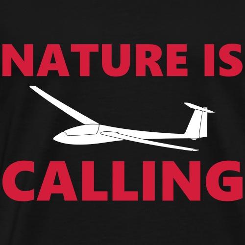 Segelflieger Natur OLC Geschenk fliegen Flieschen - Männer Premium T-Shirt