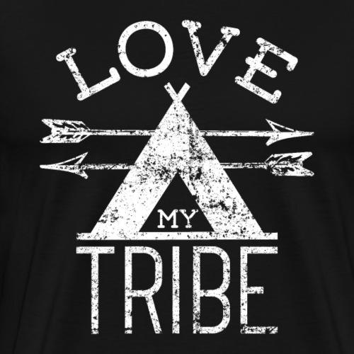 Love My Tribe - Männer Premium T-Shirt