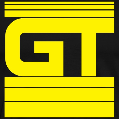 Gymtastic - GT - Striche - Gelb - Sportbekleidung - Männer Premium T-Shirt