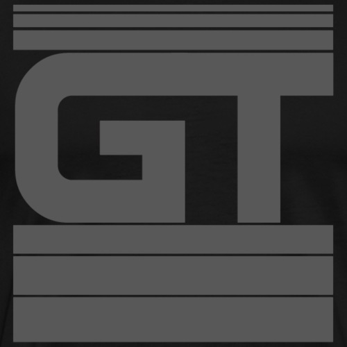 Gymtastic - GT - Striche - Grau - Sportbekleidung - Männer Premium T-Shirt