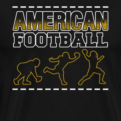 American Football Players - Männer Premium T-Shirt