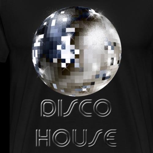 Disco House - Männer Premium T-Shirt