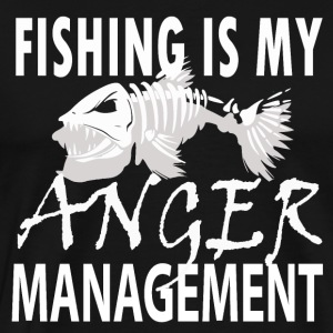 Manage your Anger - Fishing - Männer Premium T-Shirt