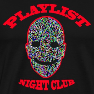 Playlist Club Smiley - T-shirt Premium Homme