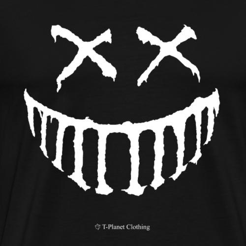 Creepy Smile White - Maglietta Premium da uomo