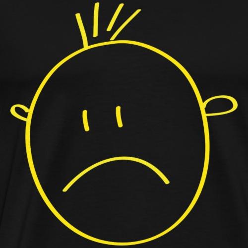 gelbes Smilie - Männer Premium T-Shirt