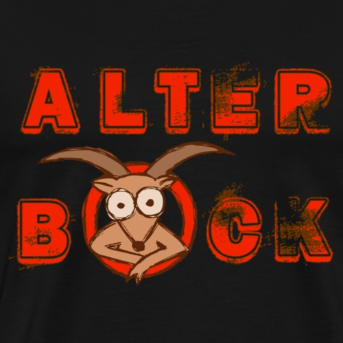 Alter Bock (Red-Edition) - Männer Premium T-Shirt