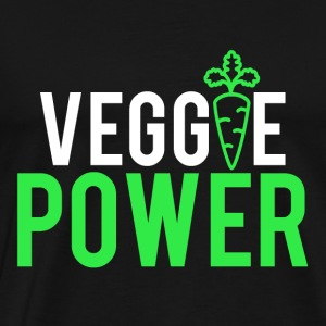 VEGGIE POWER - Premium T-skjorte for menn