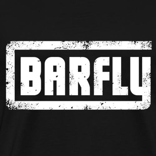 Barfly - White Logo - Männer Premium T-Shirt