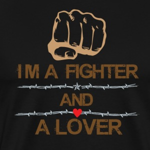 Fighter and Lover - Men's Premium T-Shirt