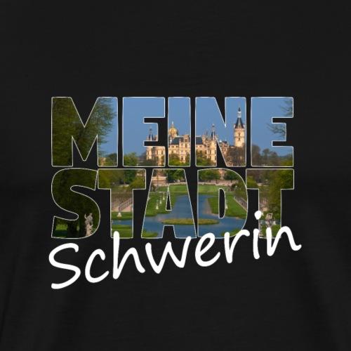 Meine Stadt Schwerin - Männer Premium T-Shirt