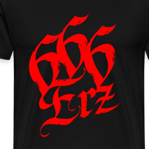 666 erz - Männer Premium T-Shirt