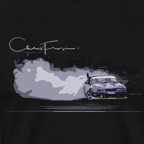 Chris Frosin Signature Series Purple Drift Design - Men's Premium T-Shirt