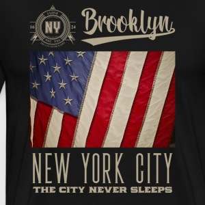 New York · Brooklyn - Premium T-skjorte for menn