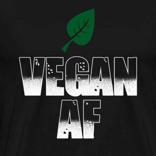 Vegan AF - Männer Premium T-Shirt