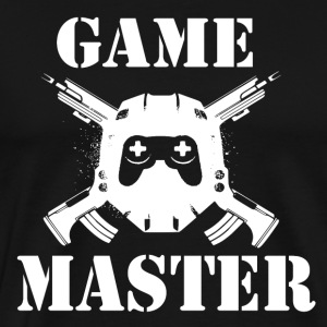Spill Master - Gamer Passion - Premium T-skjorte for menn