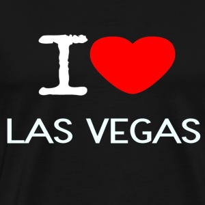I LOVE LAS VEGAS - Men's Premium T-Shirt
