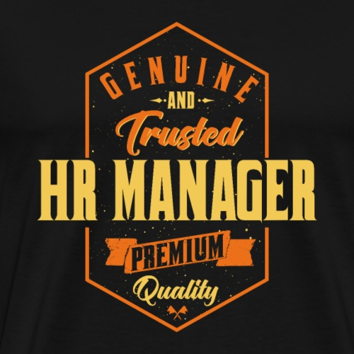 Genuine and trusted HR Manager - Männer Premium T-Shirt