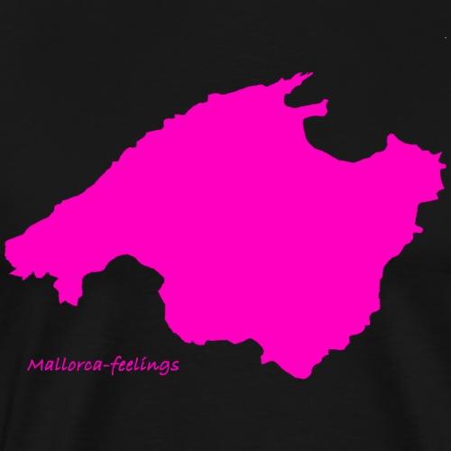 mallorca-feelings pink - Männer Premium T-Shirt