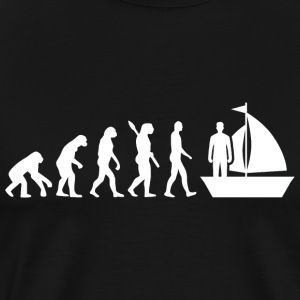 Evolution Sailing Glider Glider w - Men's Premium T-Shirt