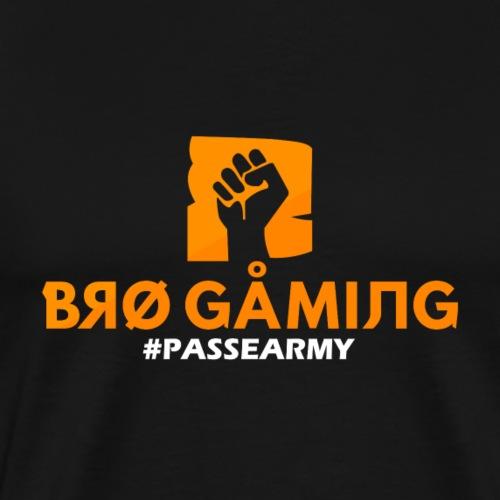 BRO GAMING #PASSEARMY - T-shirt Premium Homme