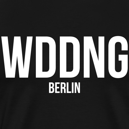WEDDING BERLIN - Männer Premium T-Shirt