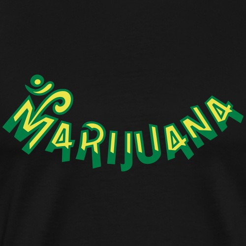 Om Marijuana - Men's Premium T-Shirt
