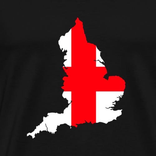 England Double Exposure - Men's Premium T-Shirt