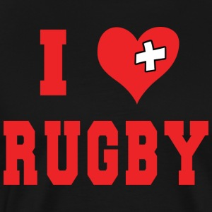 I Love Rugby Football - Men's Premium T-Shirt