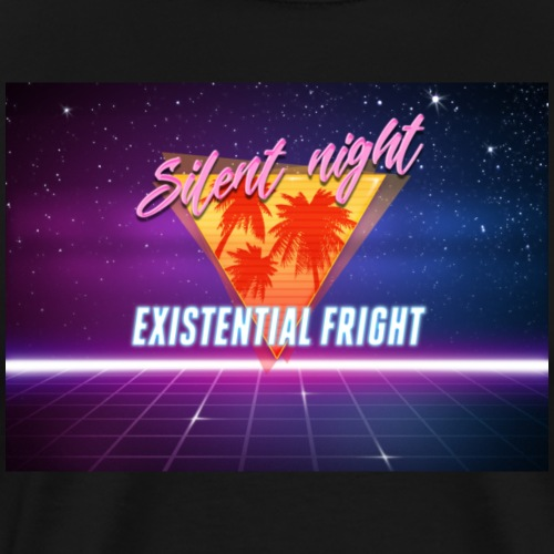 Silent Night, Existential Fright - Men's Premium T-Shirt