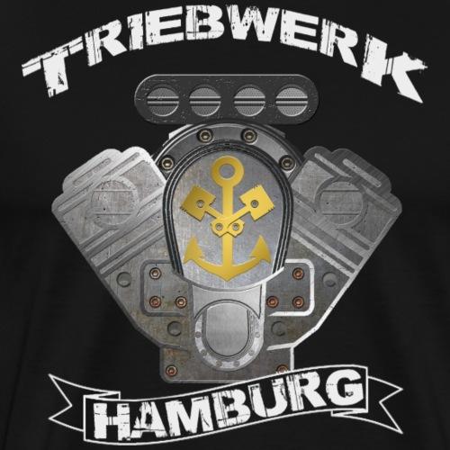 Triebwerk Hamburg Metal Edition - Men's Premium T-Shirt