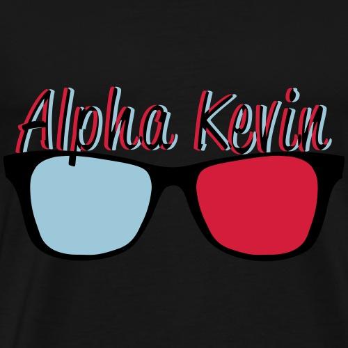 Alpha Kevin V1 - Männer Premium T-Shirt