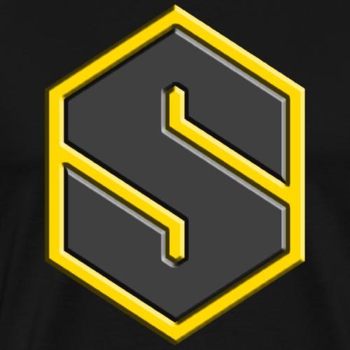 Starnas 3D Logo - Men's Premium T-Shirt